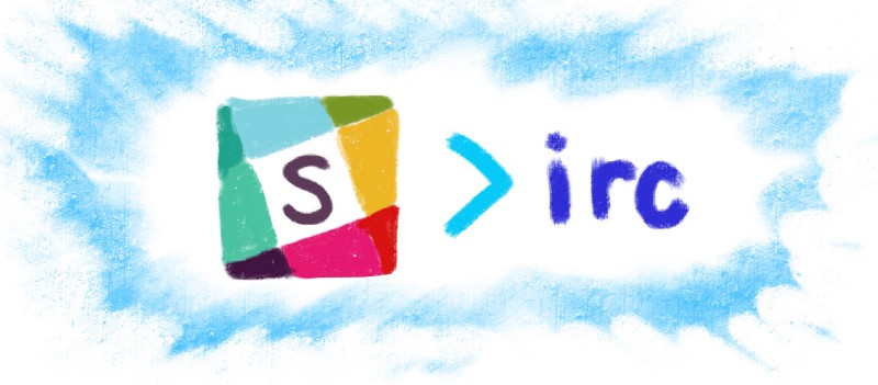 Популярное приложение Slack vs. Преподобного IRC