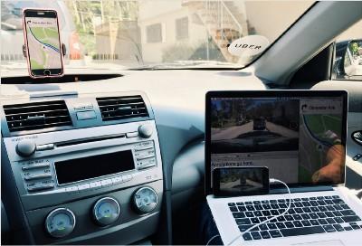 Uber Navigation - дизайн приложения навигация для водителей, фото 8