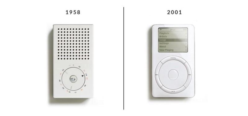Историческое влияние дизайна