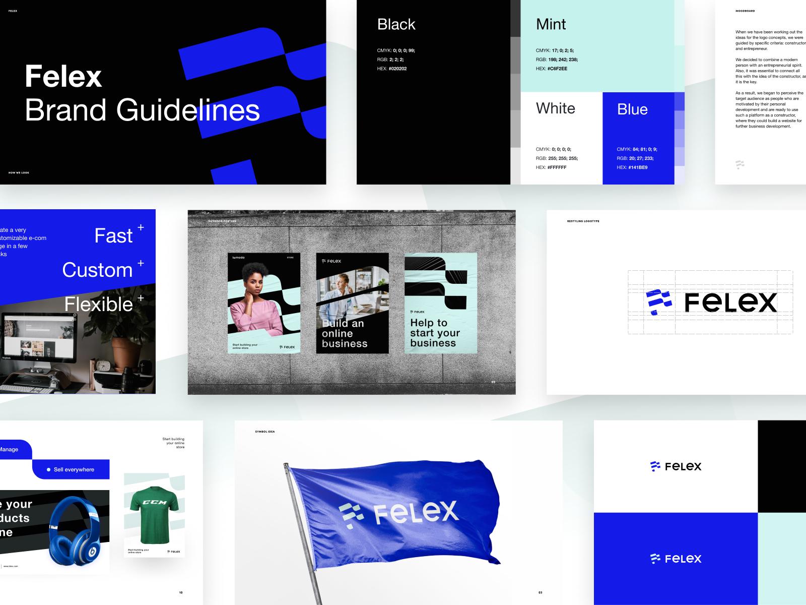 Результат работы графического дизайнера – носители в едином фирменном стиле с уникальным характером бренда