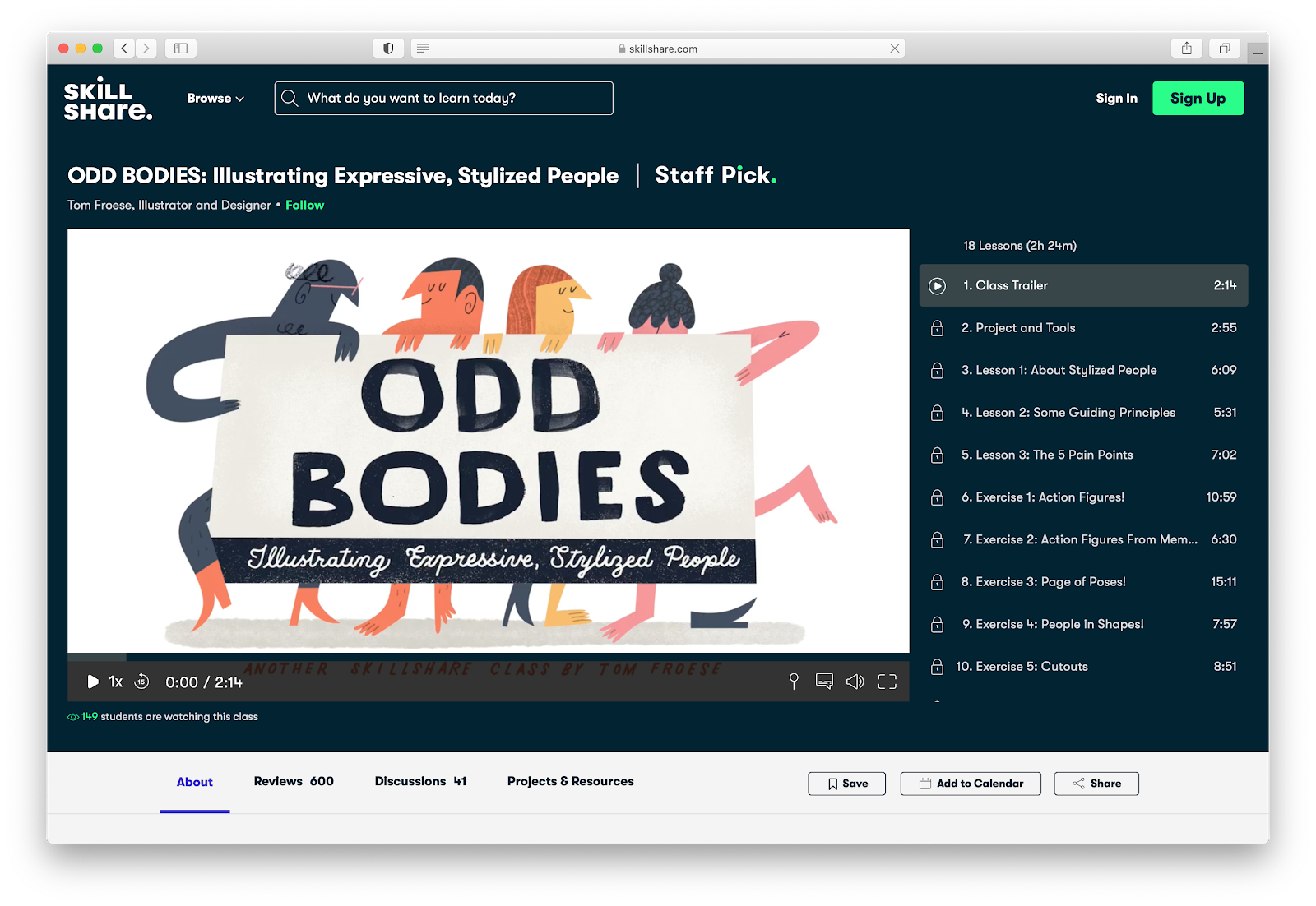 ODD BODIES: Illustrating Expressive, Stylized People | Tom Froese | Skillshare