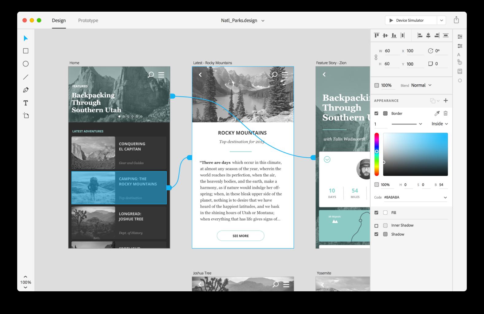 Adobe XD — это решение для проектирования пользовательского интерфейса приложений для создания веб-сайтов и мобильных приложений.